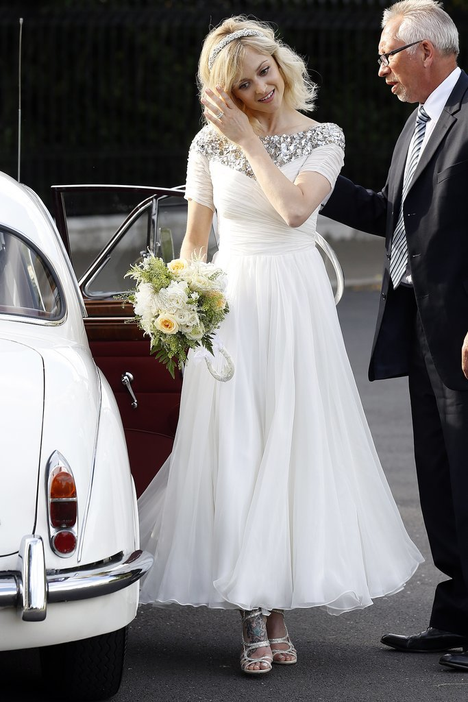 Ferne Cotton gets Married - Sharp N Chic Weddings