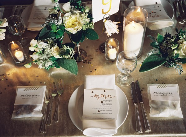 Placesetting ideas for weddings Place setting ideas