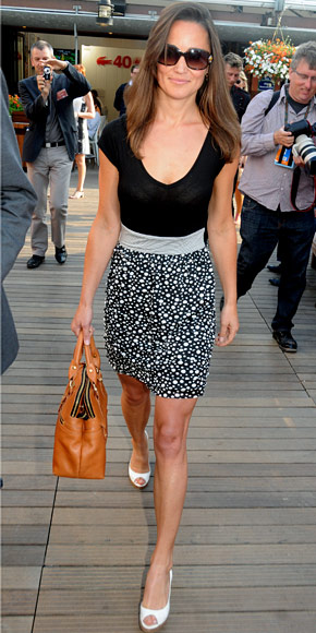 Pippa Middleton Zara Dress