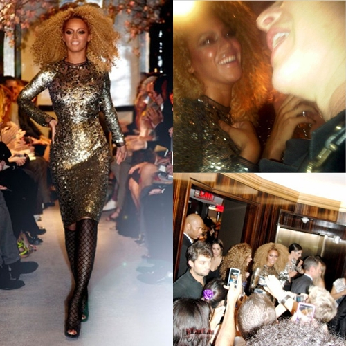 Beyonce tom ford sequin dress