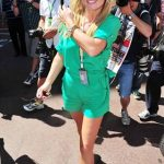 Geri Halliwell Monaco grand prix 2011