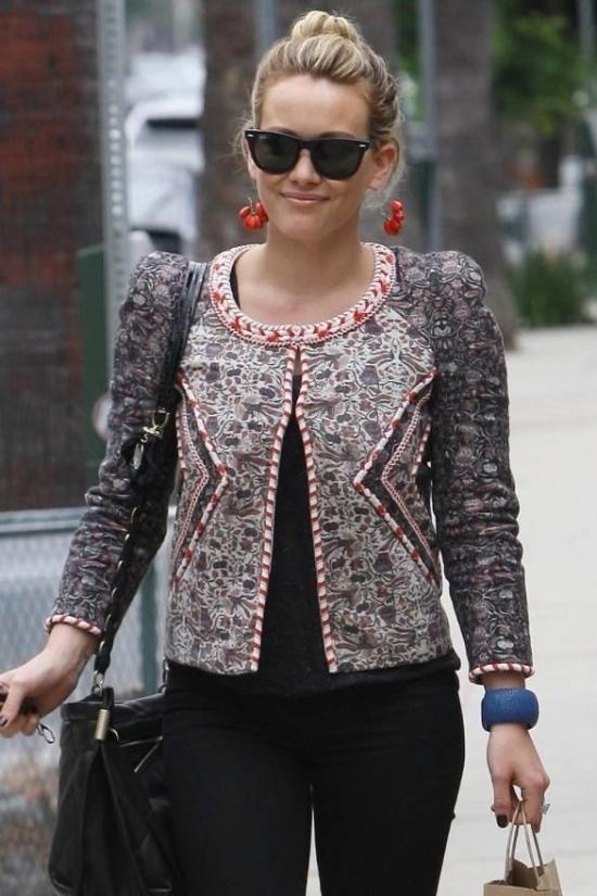 Isabel Marant hilary duff jacket