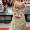 J.k rowling green dress harry potter premier