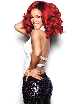 rihanna glamour magazine shoot