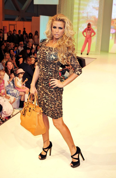 katie price new fashion dress leapard skin