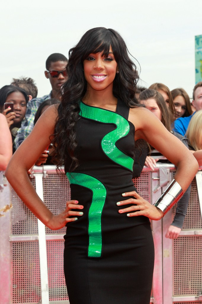 Kelly Rowland versace dress 2011 x factor