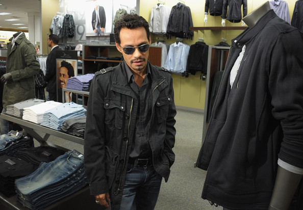 marc anthony launch of new fashion line