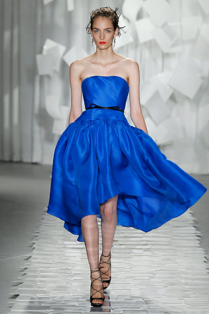 jason wu blue dress 2012