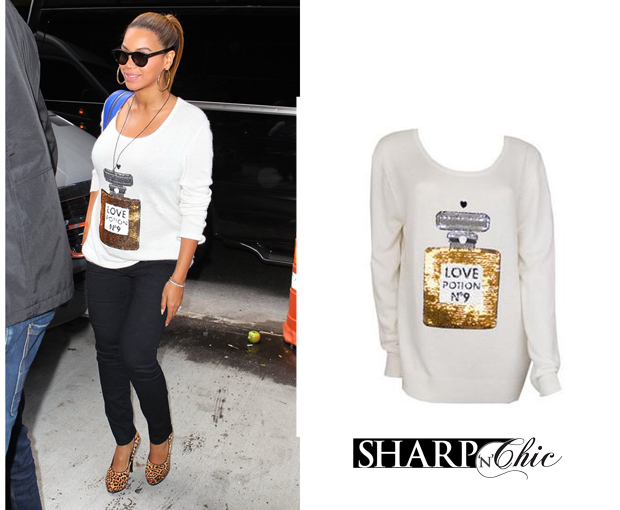 beyonce love potion jumper