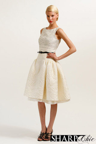 caroline herrera white dress jessica alba 2010 resort