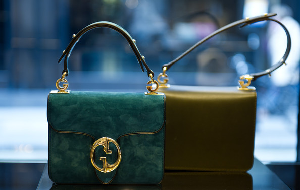 teal gucci bag