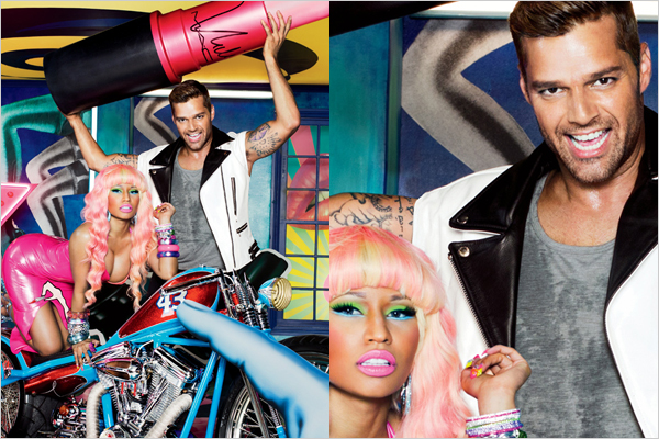 nicki minaj and ricky martin mac makeup