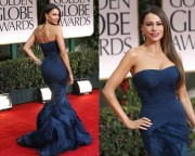 sofia vergara vera wang blue dress
