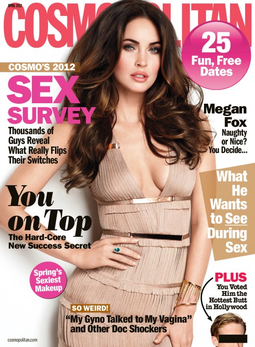 megan fox cosmo magazine