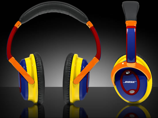 headphones colourful coloware bose