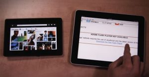 Playbook Blackberry vs apple