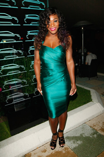 Serena Williams green dress