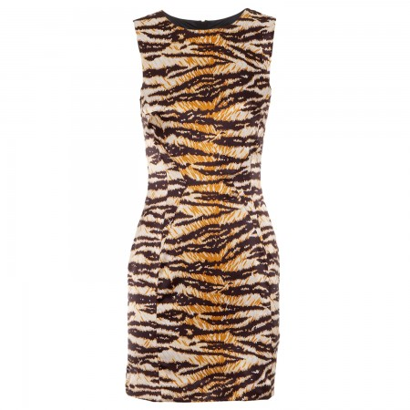 D&G tiger print dress