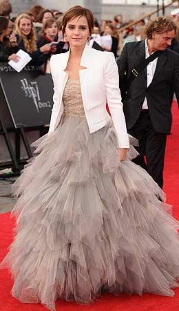 emma watson white jacket