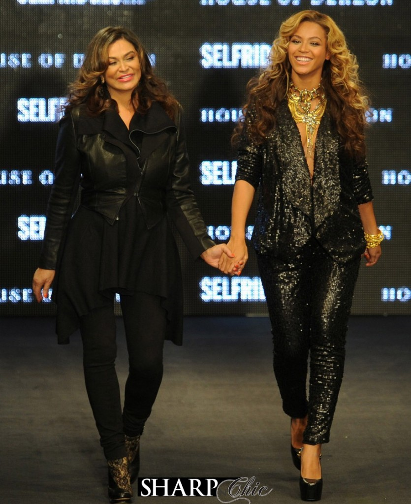 beyonce and tina london selfridges