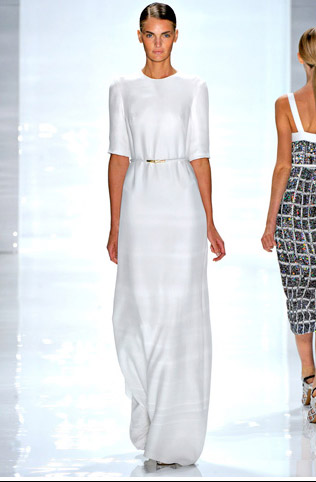 derek lam white dress kirsten
