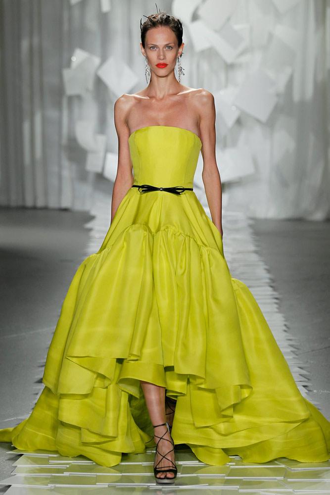 lime dress jason wu 2012