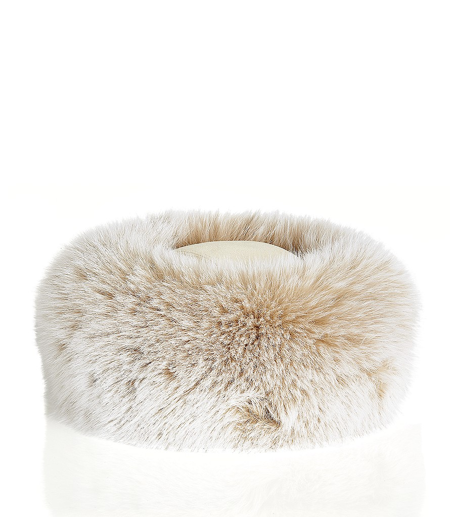 CANADIAN HATS Fox Fur Roller Hat