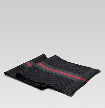 black gucci scarf