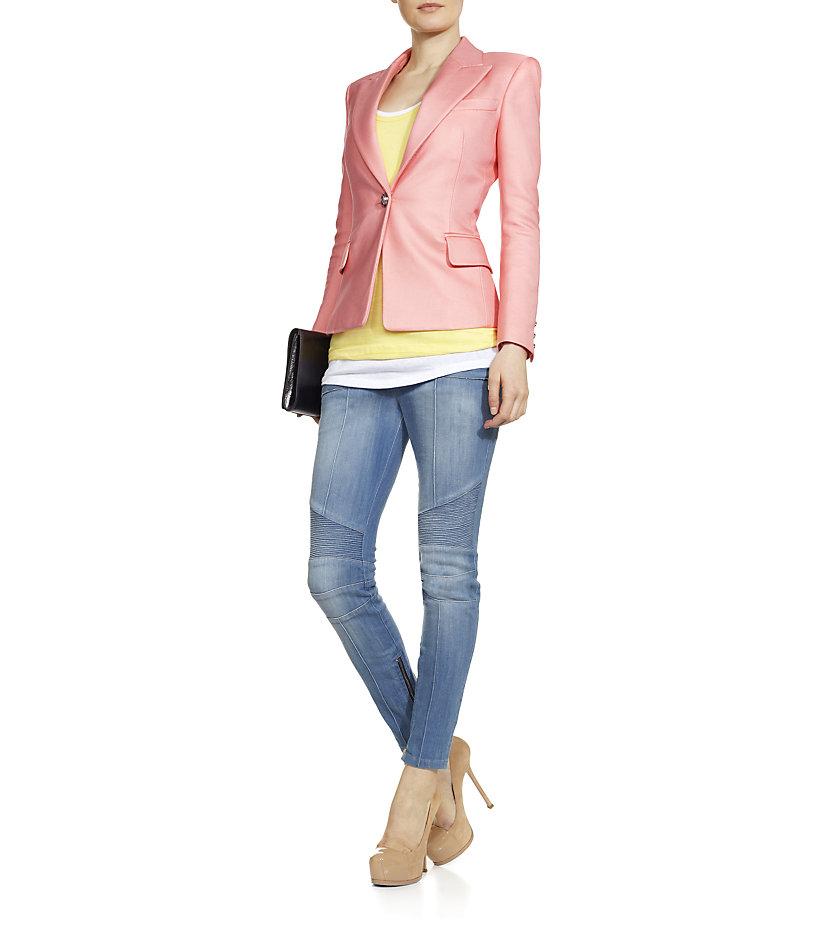 pink belmain jacket
