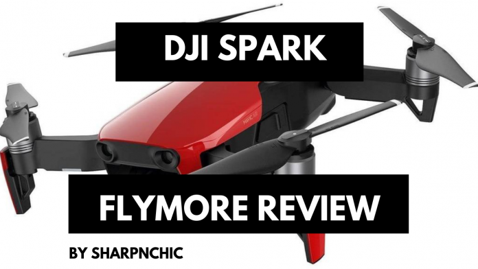dji spark fly more review